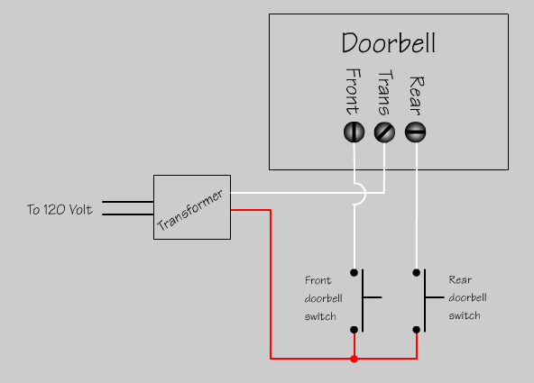ring doorbell wiring diagram sample