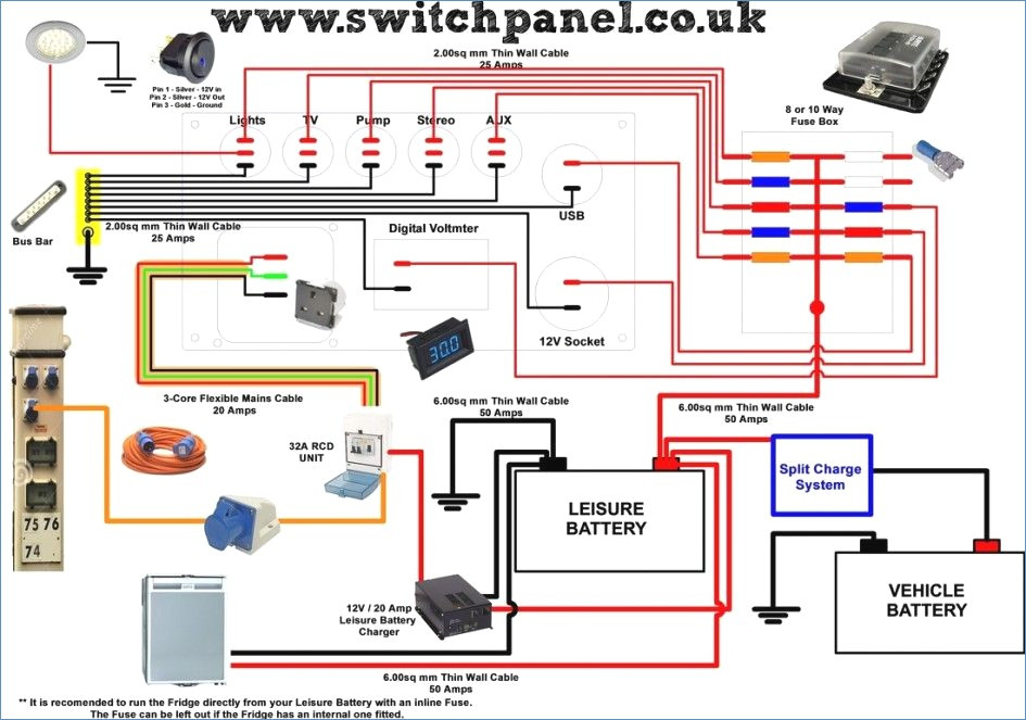 rv inverter charger wiring diagram Collection-12v to 240v Inverter Circuit Diagram Best Wiring Diagram for Rv Inverter 11-n