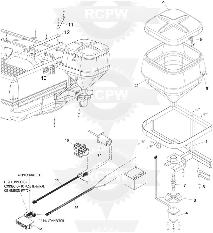 Spreader Wiring Diagram