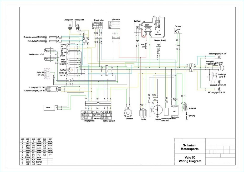 scooter alarm wiring diagram download-scooter wiring diagram in 139qmb chinese  cdi alarm 150 17