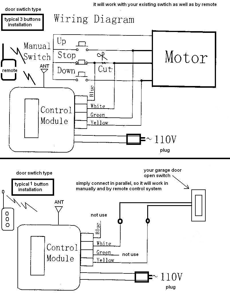 sears craftsman garage door opener wiring diagram Download-Craftsman Garage Door Opener Wiring Diagram New 4-q
