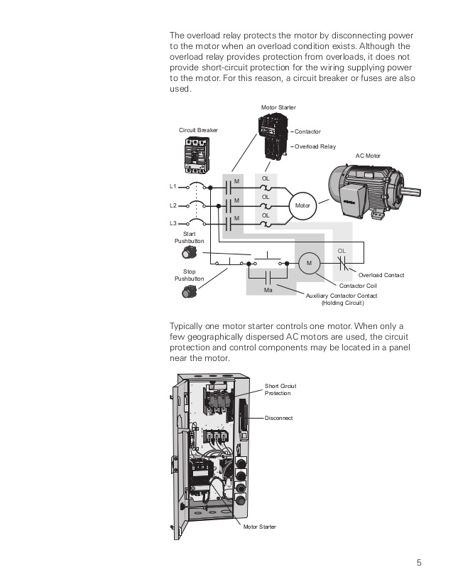 Siemens Motor Control Center Wiring Diagram - 5 8o