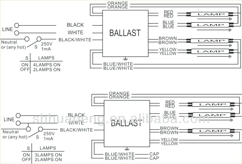 Ballast Wiring Diagram With 4 - Trusted Wiring Diagram