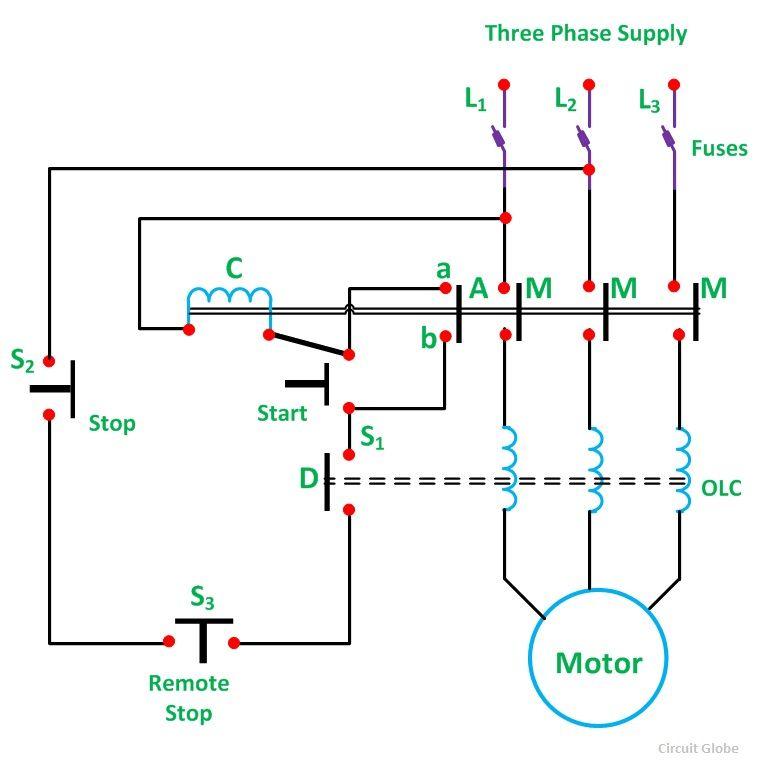 Sensational Single Phase Motor Starter Wiring Diagram Pdf Download Wiring Wiring 101 Photwellnesstrialsorg