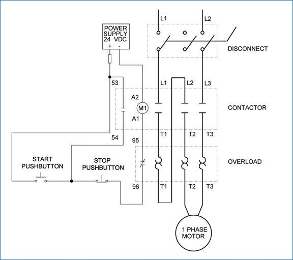 Motor starter overload wiring diagrams custom wiring diagram single phase motor starter wiring diagram download wiring diagram rh faceitsalon com electrical wiring diagrams motor controls motor starter control wiring cheapraybanclubmaster Images