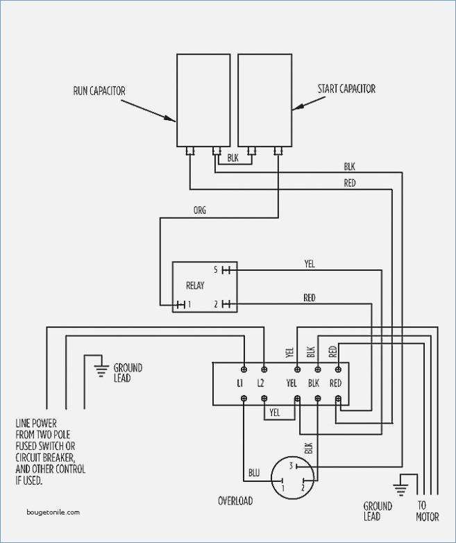 Single Phase Submersible Motor Starter