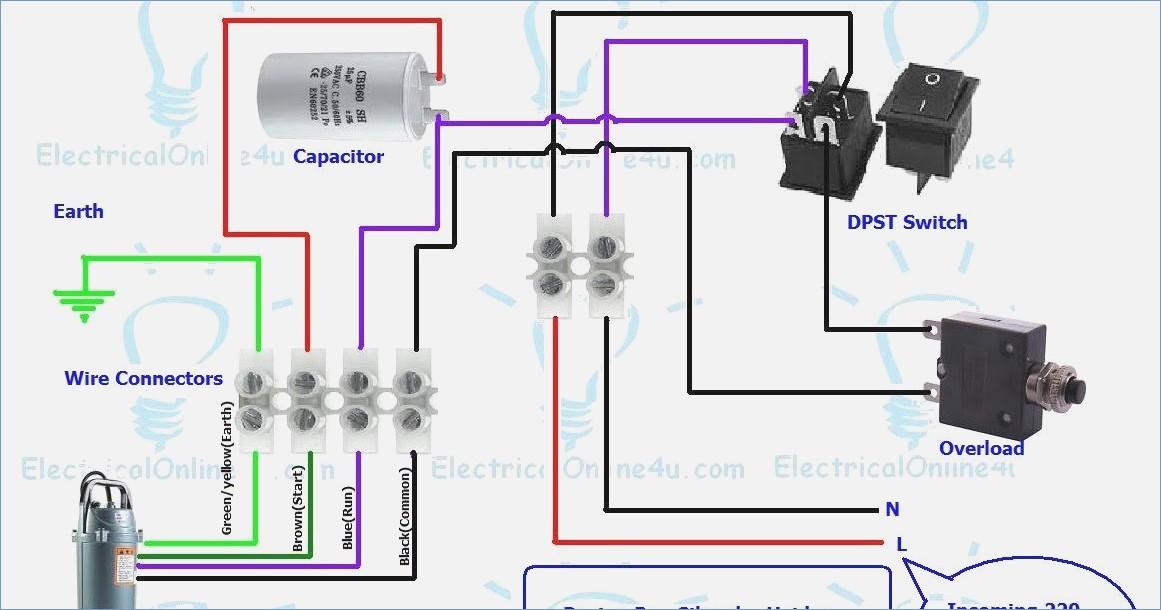 single phase submersible pump starter wiring diagram Download-Single Phase Submersible Pump Starter Wiring Diagram Pdf – buildabiz 11-k