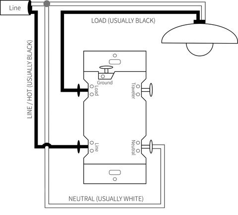 single pole dimmer switch wiring diagram Download-Zooz Z Wave Plus f Toggle Switch ZEN23 VER 2 0 Single Pole Wiring 14-f