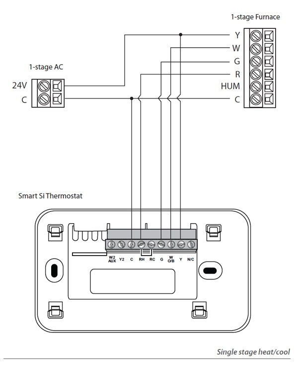 single stage thermostat wiring diagram Download-How to Install Nest thermostat with 2 Wires Luxury Ecobee Wiring Diagram See – Deargraham 9-r