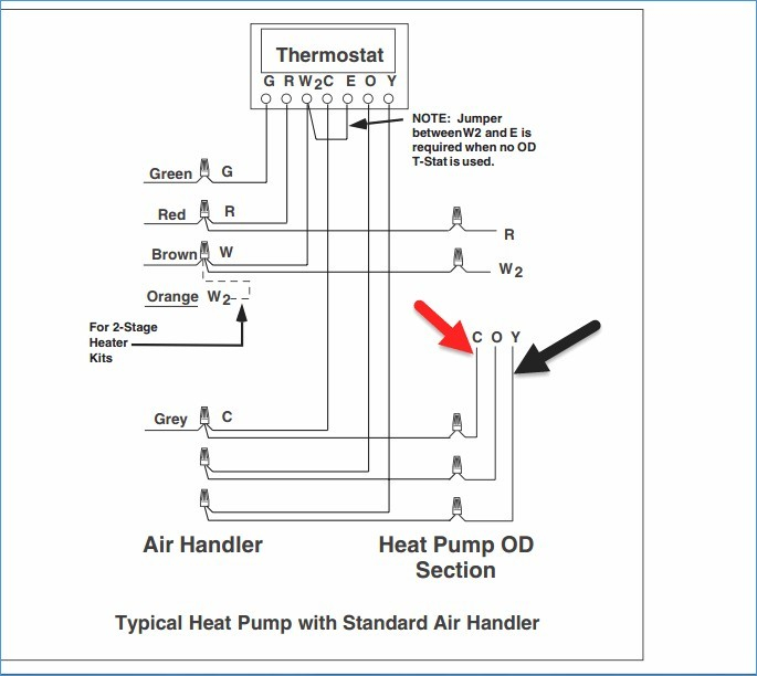 single stage thermostat wiring diagram Collection-Lovely Heat Pump Thermostat Wiring Diagram Elegant Wiring Diagram 16-f