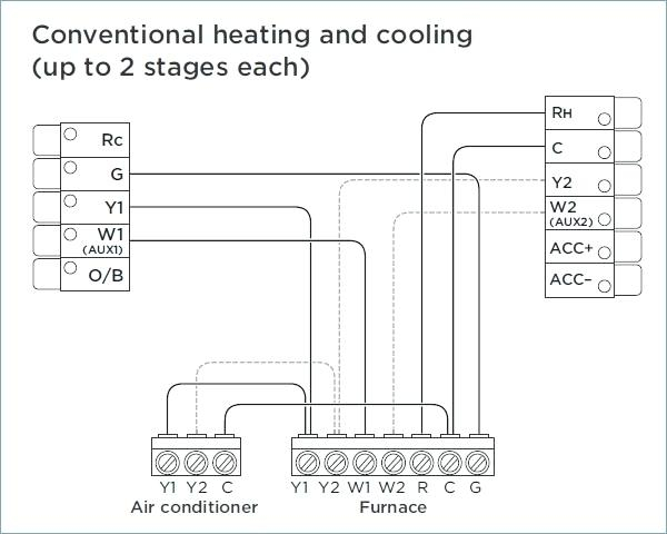 single stage thermostat wiring diagram Download-product review thermostat system single stage heat cool 2 furnace best for gas wiring diagram 14-a