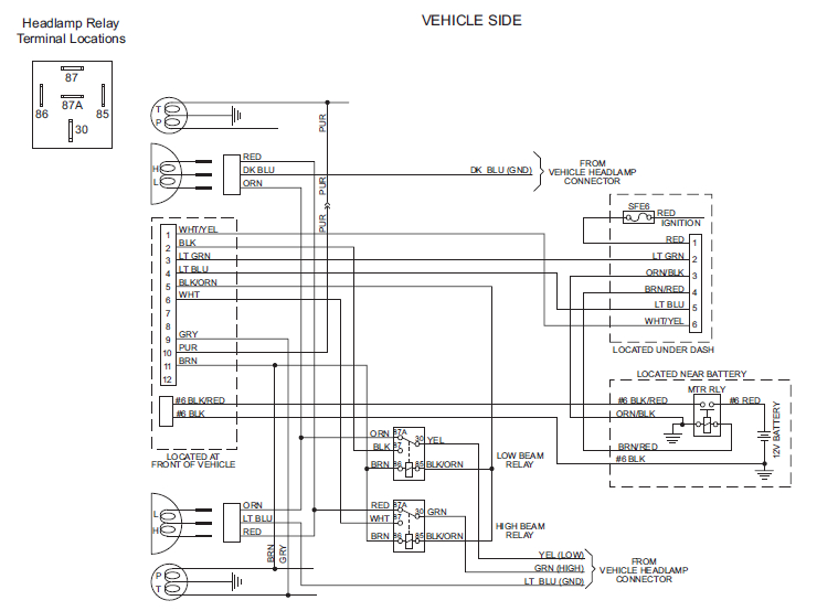 snowdogg plow lights wiring diagram trusted wiring diagrams rh wiringhubme today