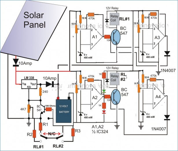 solar panel wiring diagram schematic Download-Related Trems Thermostat Wiring Schematic 6-q