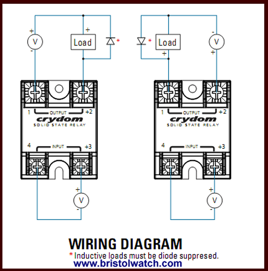 solid state relay wiring diagram Collection-How to connect Crydom and other solid state relays 15-i