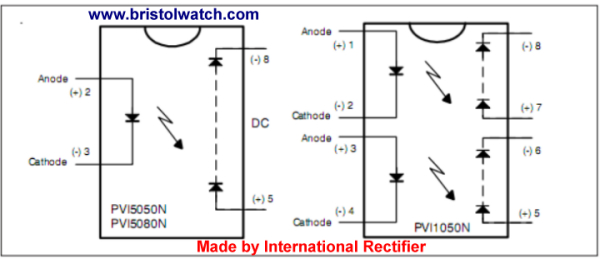 solid state relay wiring diagram Collection-PVI5050N series photovoltaic output opto couplers 16-j