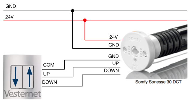 somfy blind motor wiring diagram Collection-cheap somfy sonesse dct motor wiring with somfy 11-s