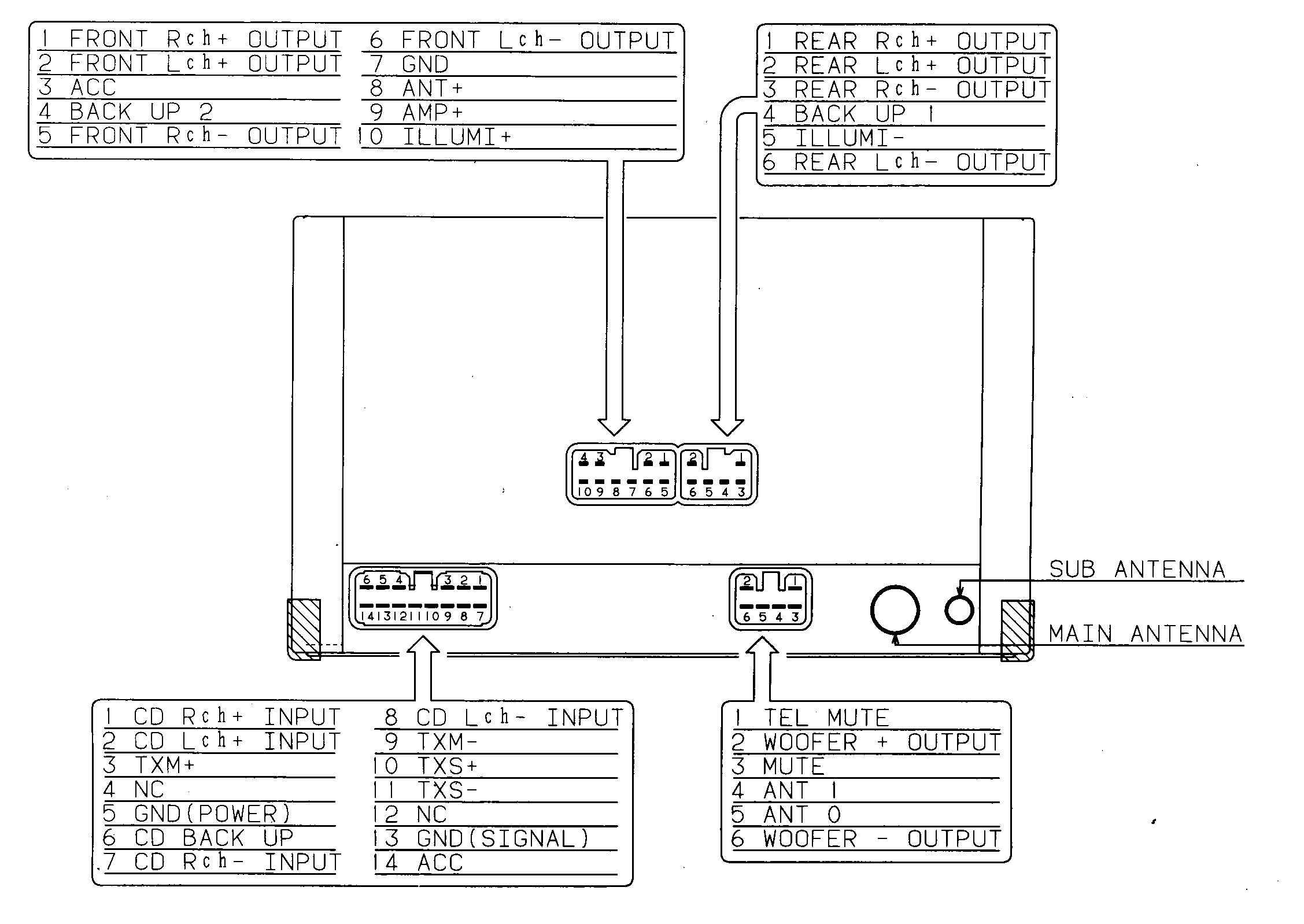Wiring Harness Diagram In Addition Boss Marine Stereo Bv9354 Sony Gallery Sample Rh Faceitsalon Com