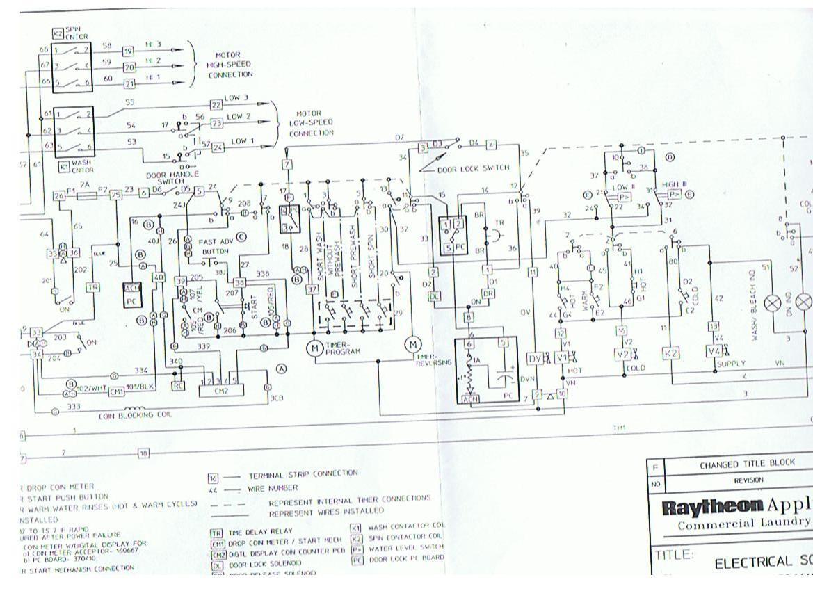 WRG-5324] Roper Dryer Timer Wiring Diagram on