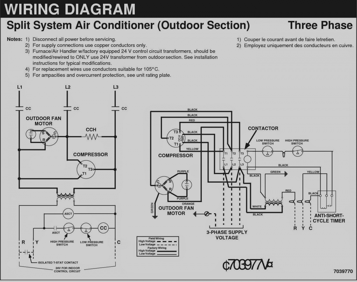Split Air Conditioner Wiring Diagram Sample | Wiring Diagram Sample