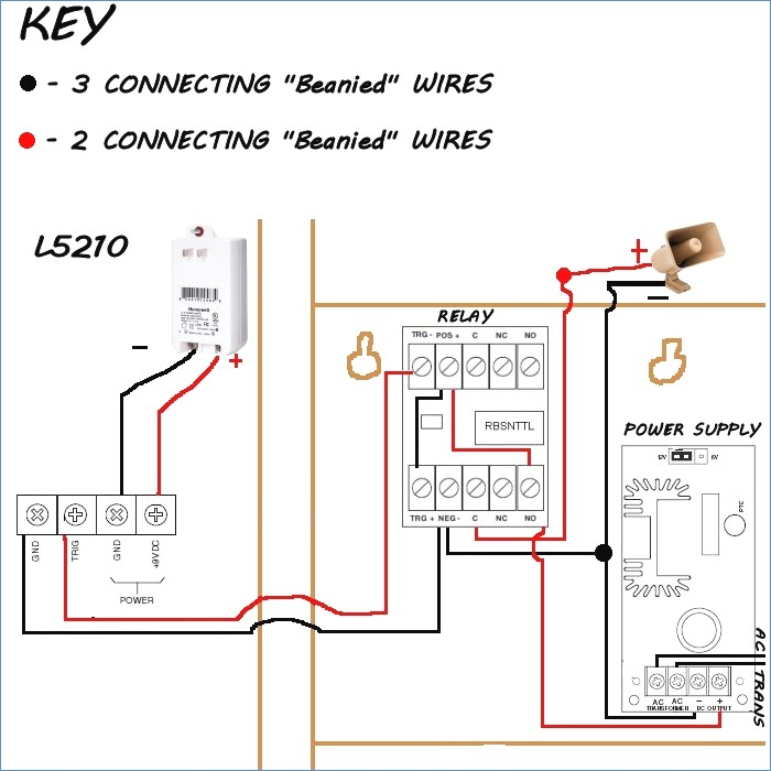 sprinkler system wiring diagram Collection-Sirenkit Od Honeywell Outdoor Siren Kit for Lynx Series Control 15-q