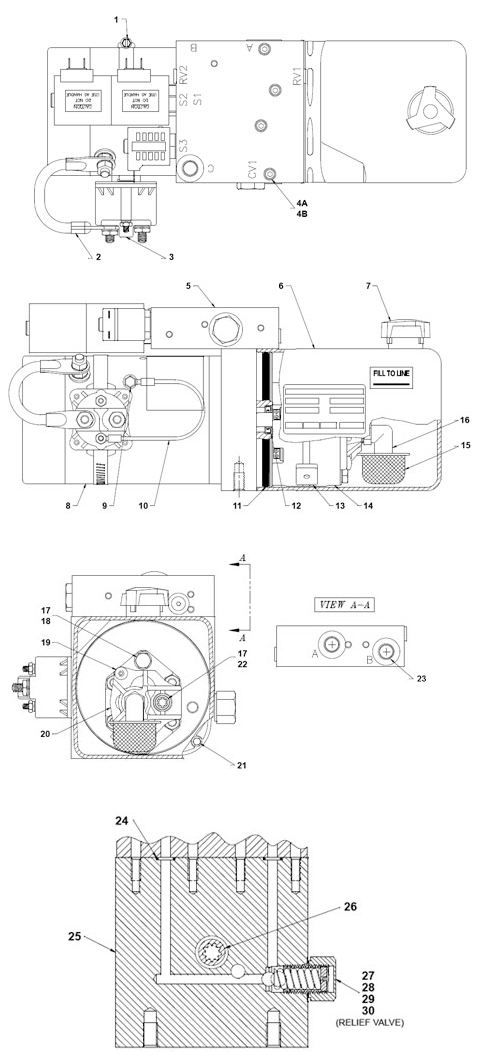 lowrider hydraulic pump wiring diagram