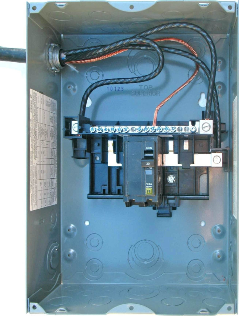 Sub Panel Fuse Box - Schematics Wiring Diagrams •