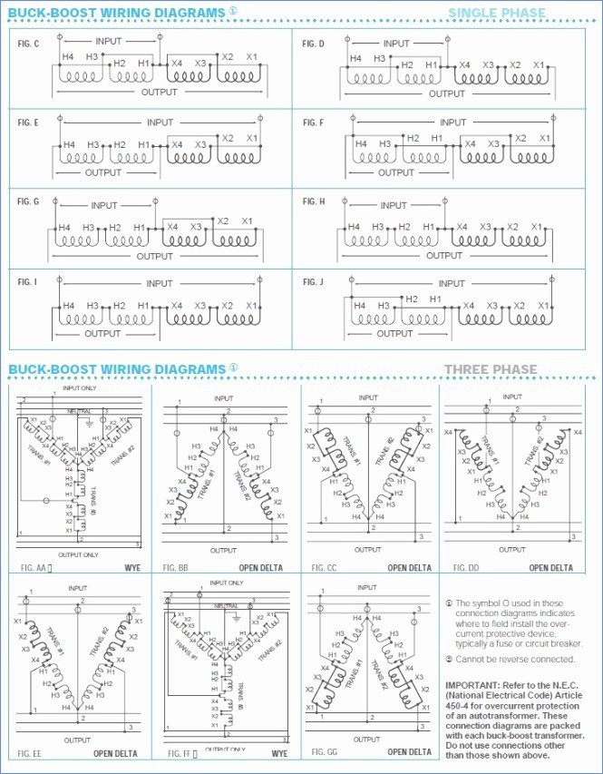 Square D Buck Boost Transformer Wiring Diagram Collection Wiring