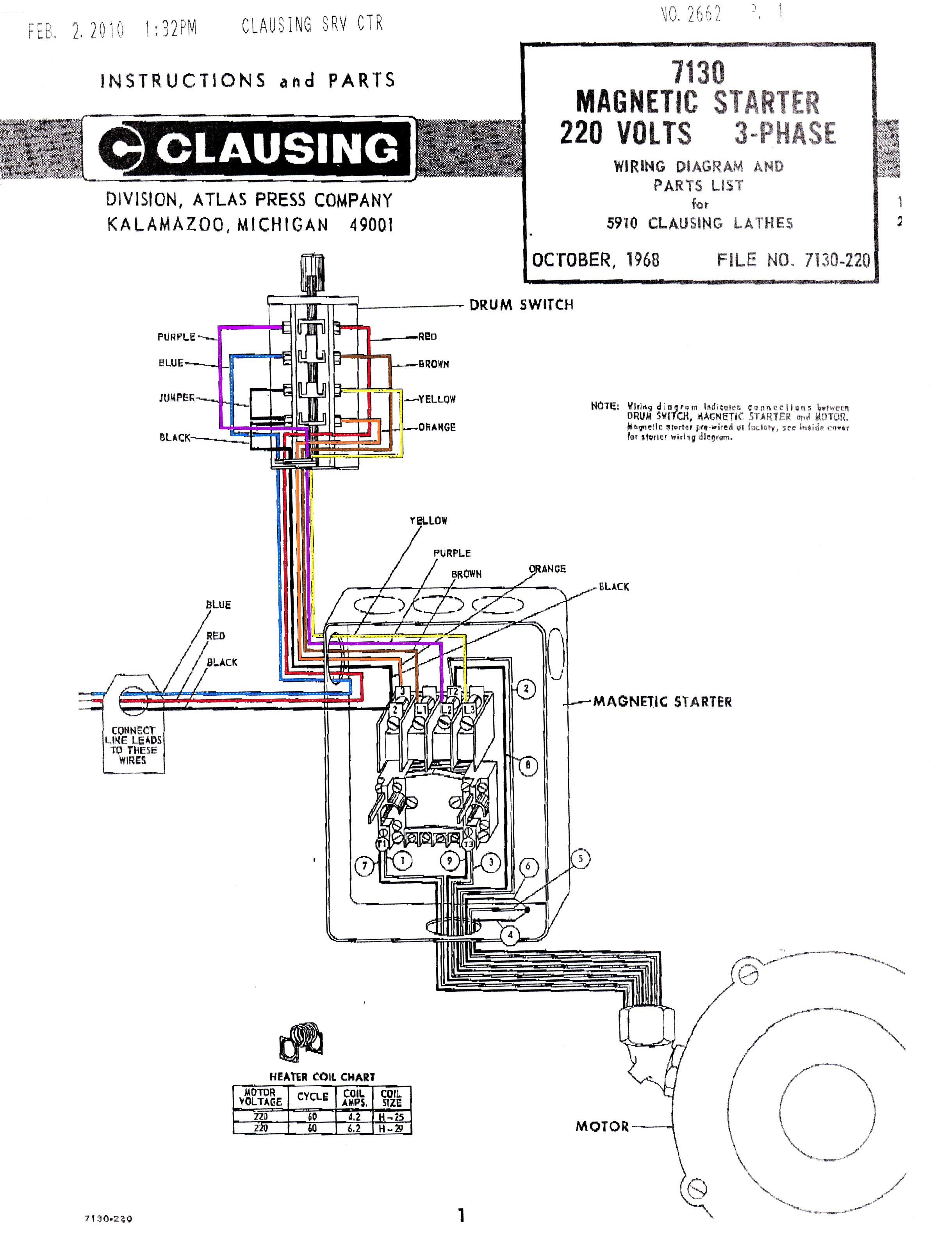 Starter D Diagram Wiring Square Motor 8911dpsg32v09 - Bookmark About on