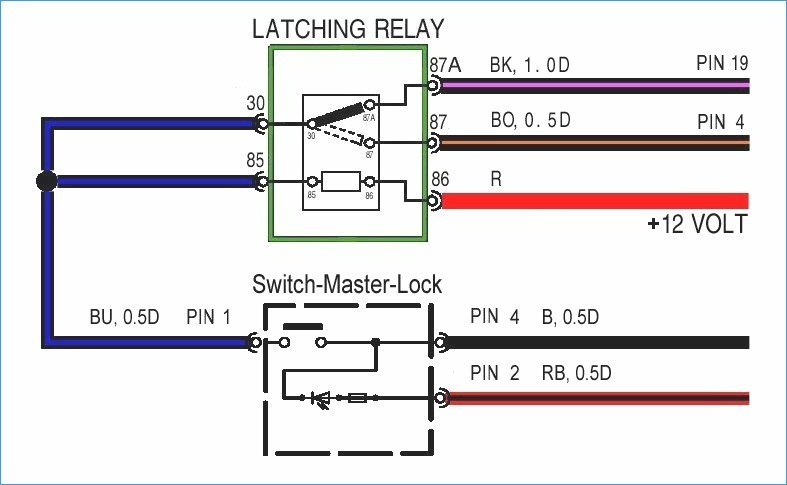 Wiring Diagram For A Latching Relay : Square d relay wiring diagram download sample