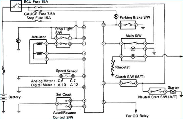 start stop wiring diagram Download-1986 toyota Pickup Fuse Diagram Beautiful 1991 toyota Pickup Wiring Diagram – Bestharleylinksfo 11-k