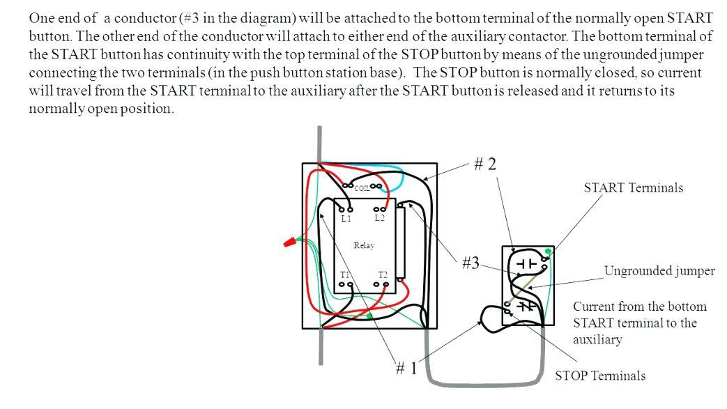 start stop wiring diagram Download-Square D Nema Size 1 Starter Wiring Diagram Lighting Electrical Hoist Start Stop Motor Control Stat 11-t
