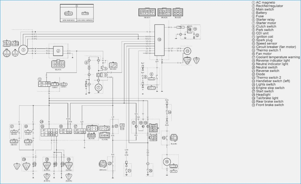 start stop wiring diagram Collection-Wiring Diagram for Yamaha 660 Grizzly – Artistpoolfo 14-l