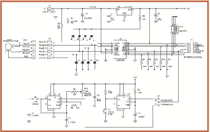Peachy Stepper Motor Wiring Diagram Sample Wiring Diagram Sample Wiring Cloud Xeiraioscosaoduqqnet
