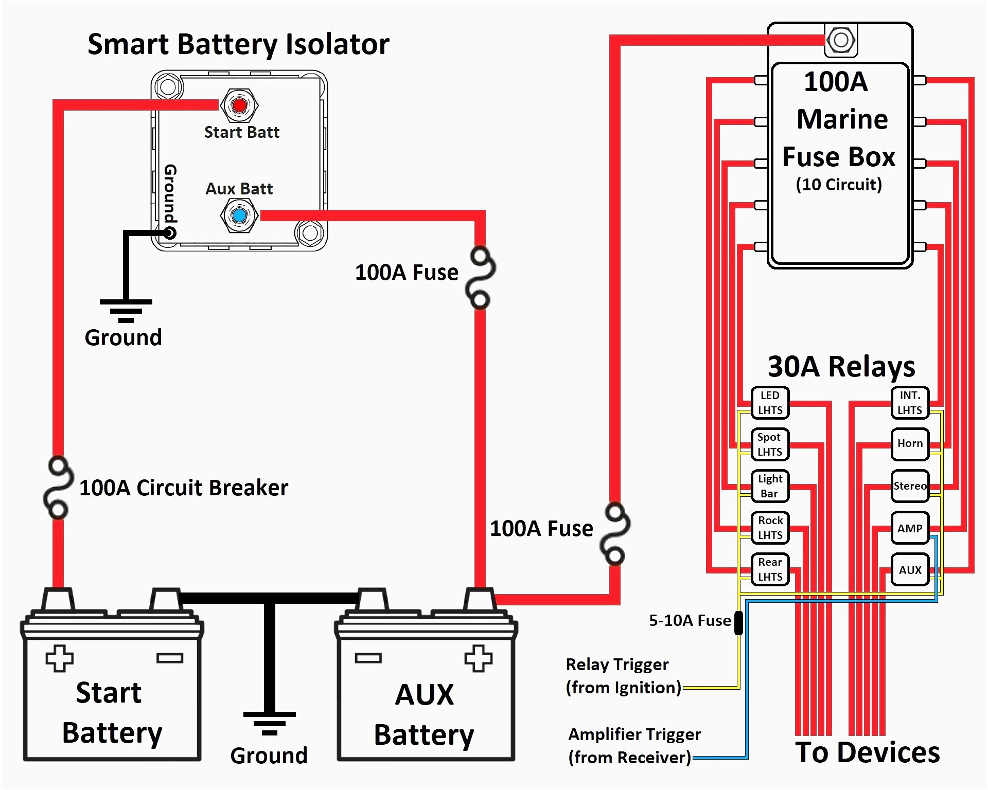 stinger battery isolator wiring diagram Download-Battery isolator Wiring Diagram New Battery isolator Wiring Diagram Webtor Ideas Collection Battery 7-n