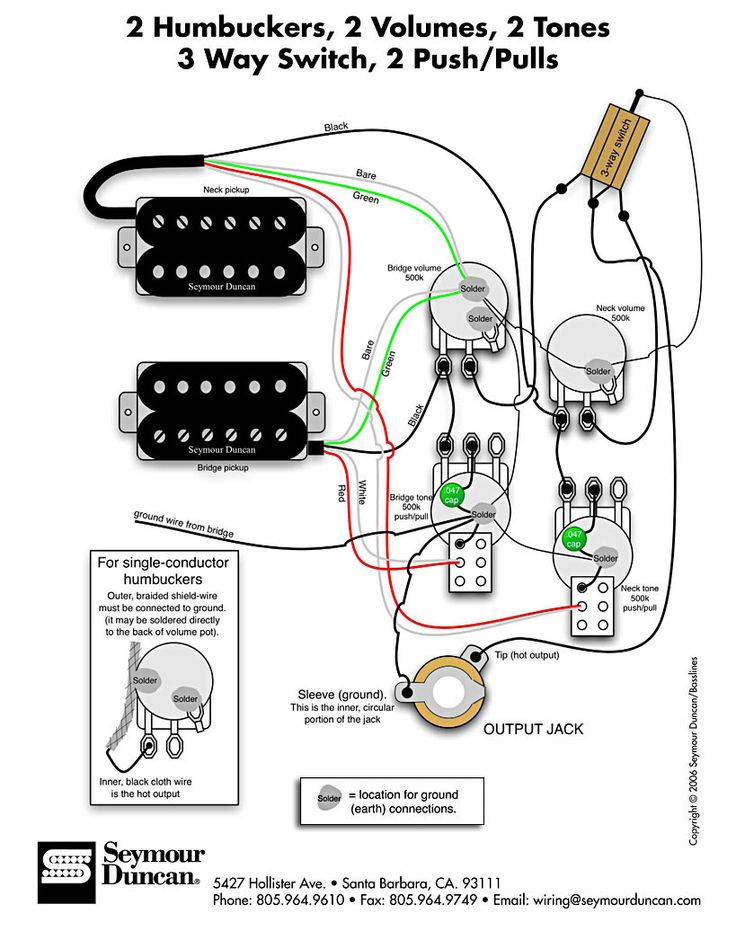 strat pickup wiring diagram Collection-The world s largest selection of free guitar wiring diagrams Humbucker Strat Tele Bass and more 7-h