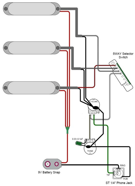 strat wiring diagram 5 way switch Download-Full Size of Strat Wiring Diagram 5 Way Switch 2 Humbuckers 1 Volume 1 Tone 5 6-n