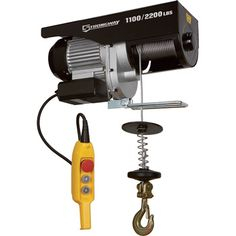 strongway electric cable hoist wiring diagram Download-This Strongway™ Electric Cable Hoist is a rugged efficient electric cable hoist that makes lifting easy 5-l