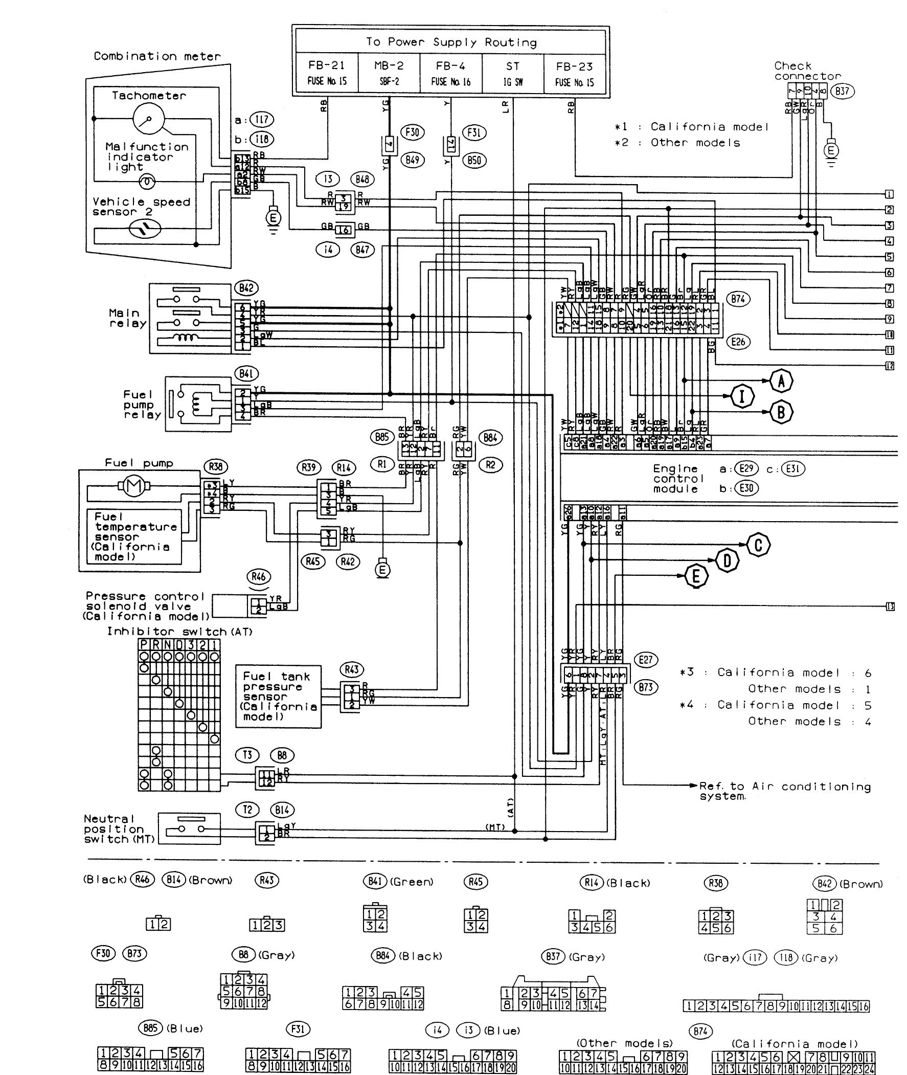 wiring diagram for subaru legacy  u2022 wiring diagram for free
