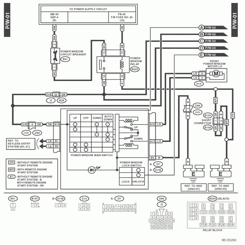 2000 subaru ac relay wiring diagram