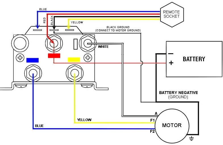 superwinch wiring diagram Download-Winch Relay Wiring Diagram Diagrams Schematics Throughout 12 Volt 20-c