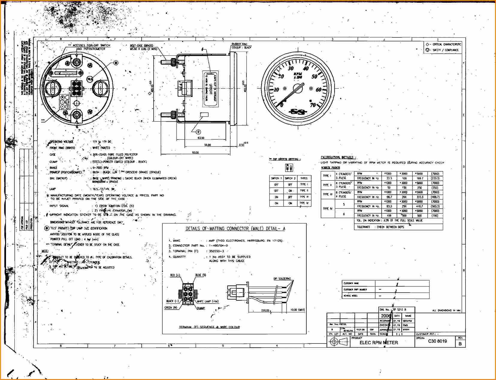 Tach Wiring Diagram Library 2000 Johnson Suzuki Outboard Tachometer Download Pdf Beautiful Yamaha