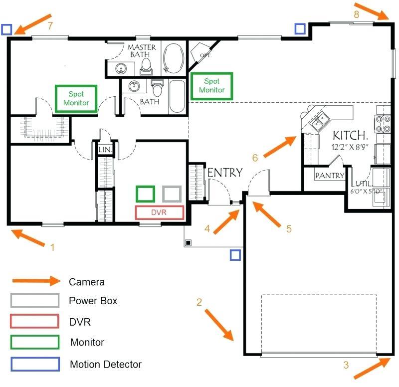 swann security camera n3960 wiring diagram Collection-home security wiring diagram – blasphe 18-f