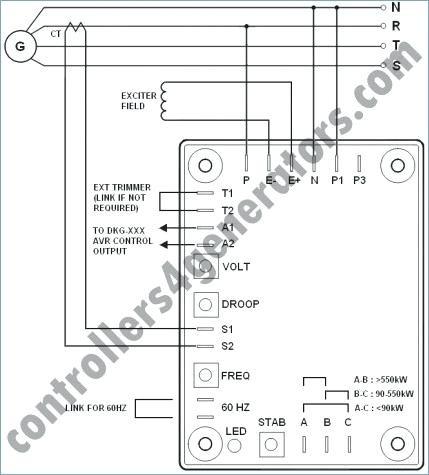 Sx460 Avr Wiring Diagram Sample | Wiring Diagram Sample on
