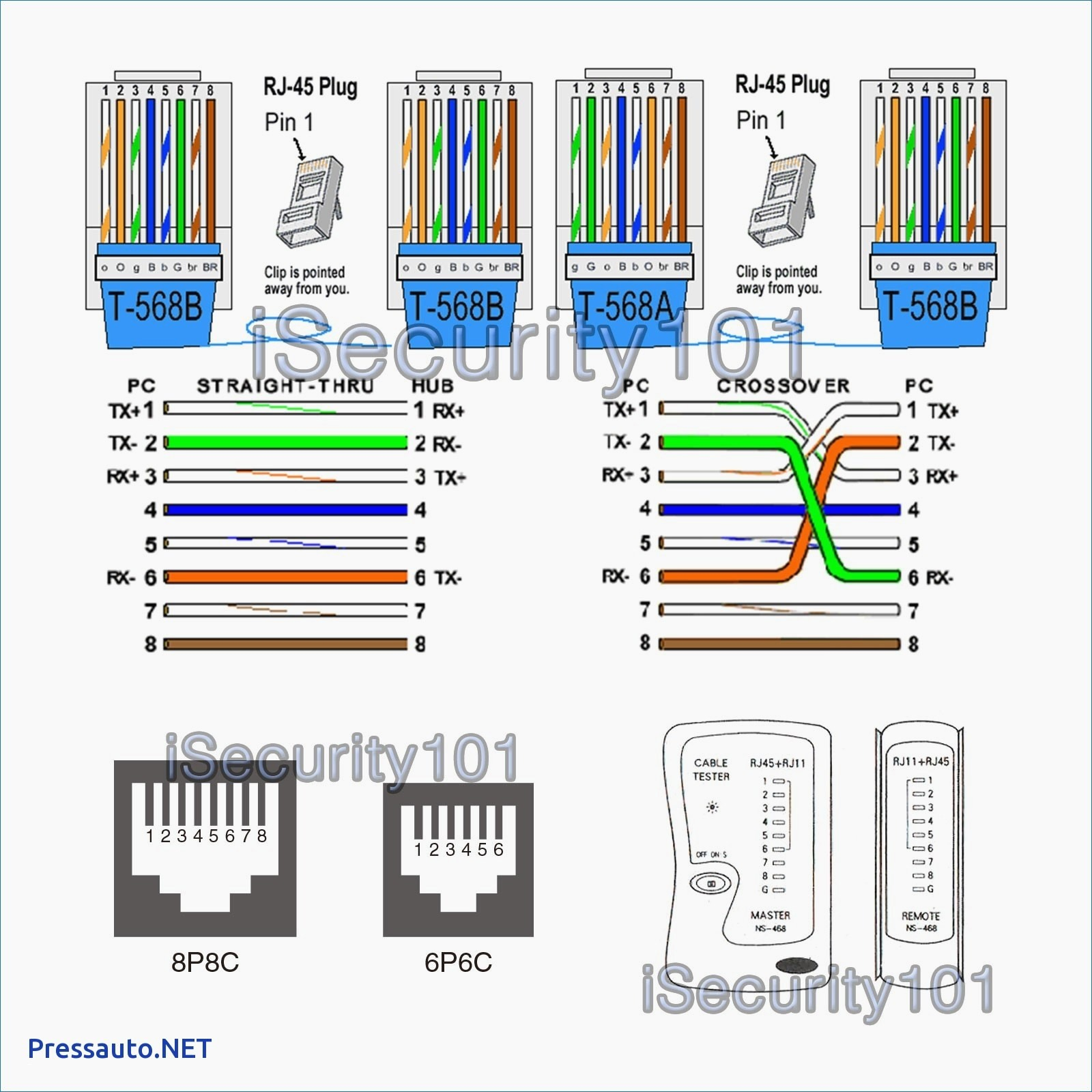 t568b wiring diagram Collection-T568b Wiring Diagram New Inspirational T568b Wiring Diagram Diagram 5-b