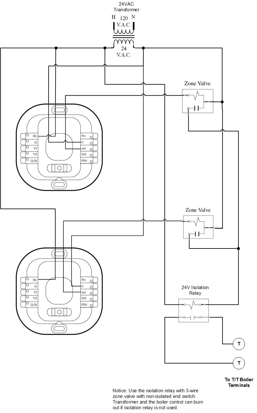 Relay Wiring Diagram Besides White Rodgers Thermostat Wiring Diagram