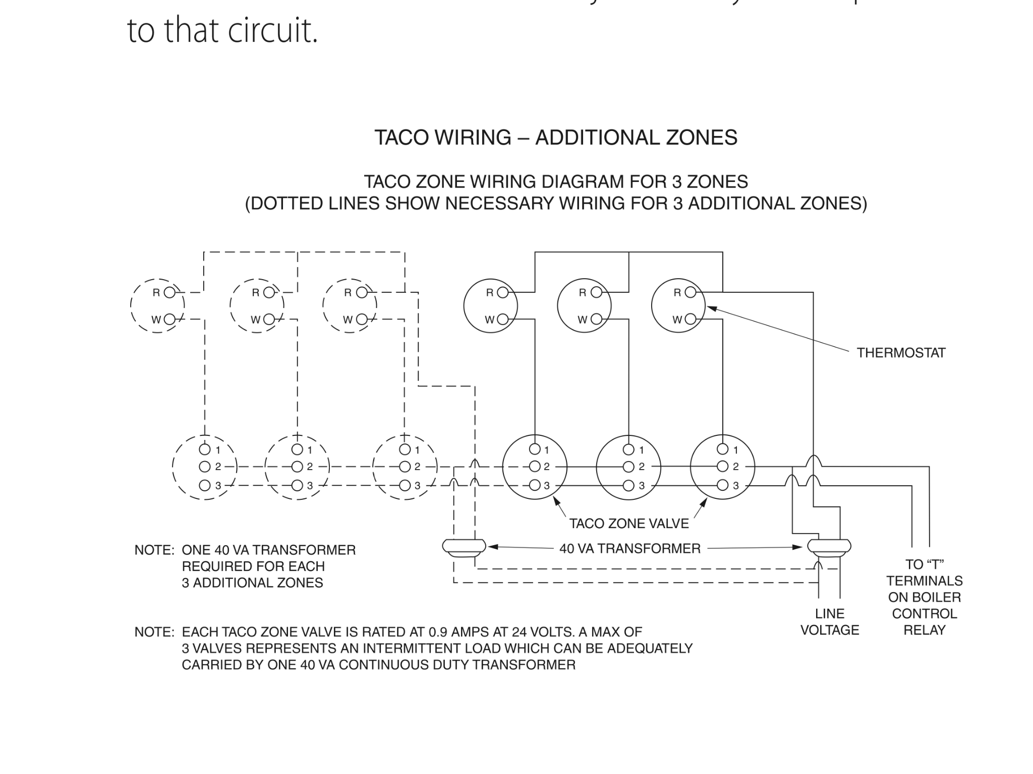 taco 571 zone valve wiring diagram Download-Zone Valve Wiring Installation Instructions Guide To Heating For Taco Diagram 1-q
