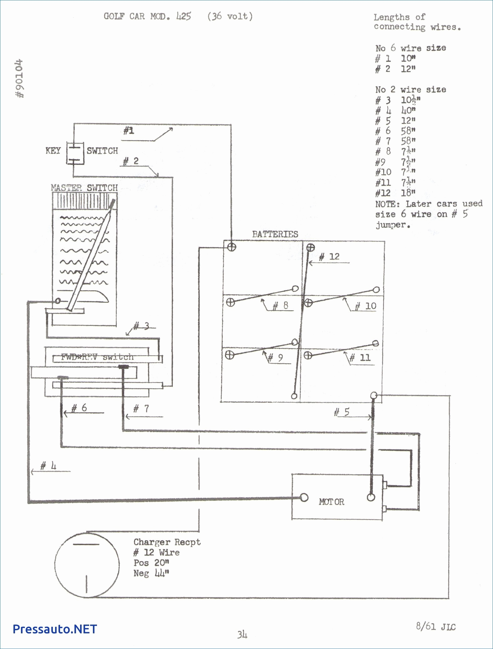 Wiring Diagram Pictures Detail: Name: taylor dunn 36 volt wiring diagram ...