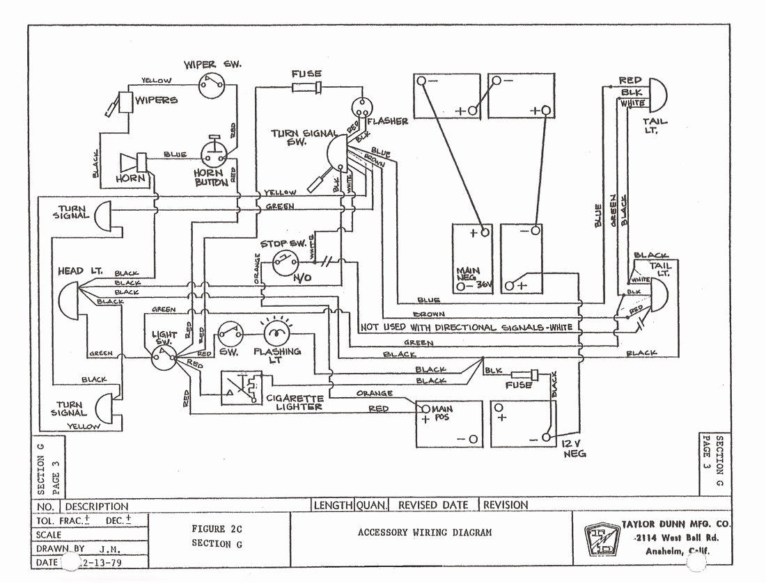 Taylor Dunn T Bird Wiring Schematic Battery - Trusted Wiring Diagrams •