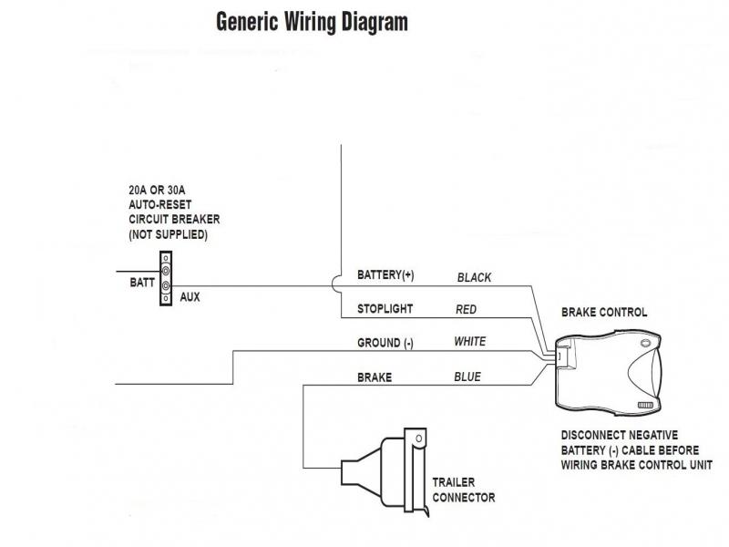 Tekonsha Brake Controller Wiring Diagram Gallery Wiring Diagram Sample