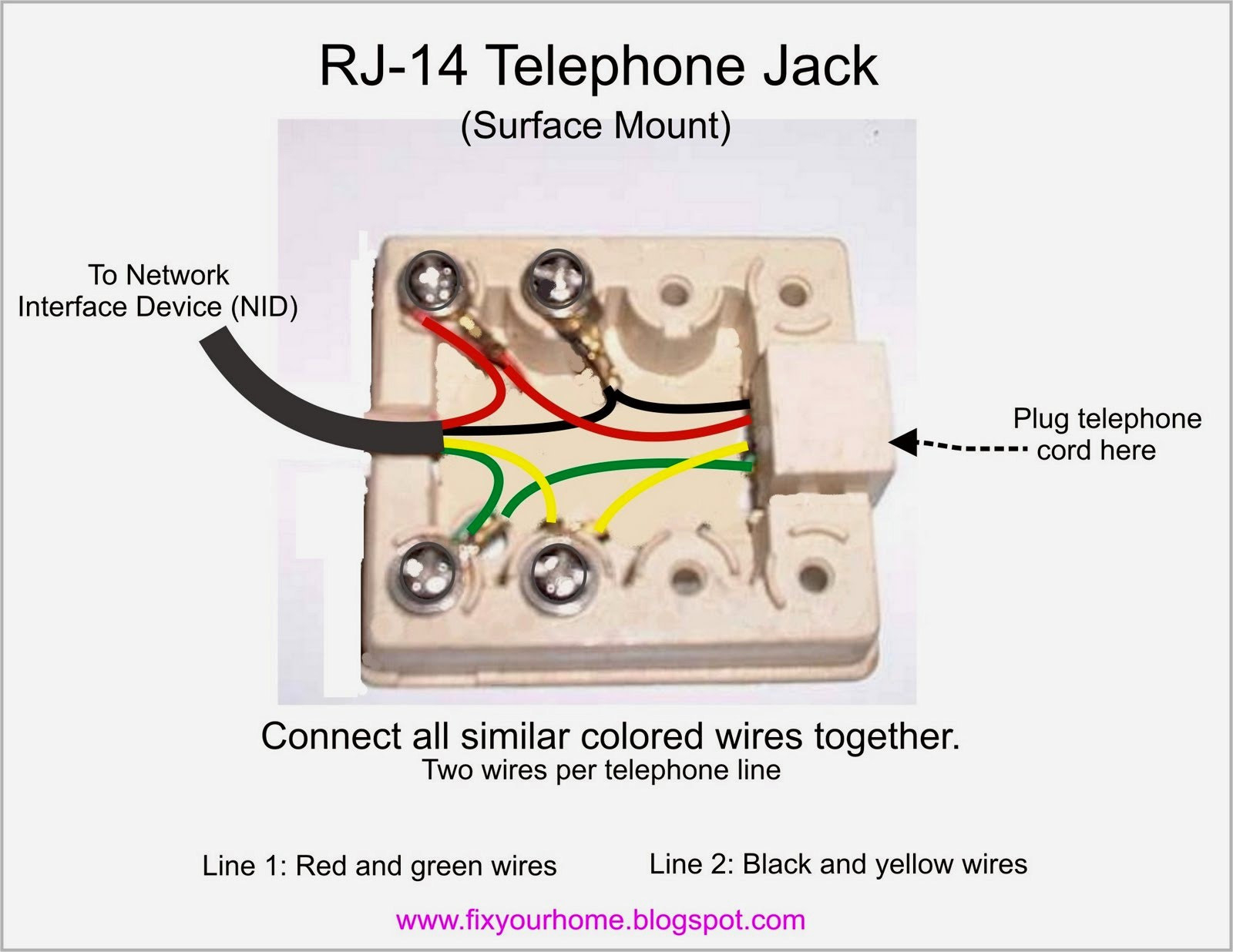2 wire phone diagram wiring diagram telephone color code cheat sheet 2 wire phone jack wiring diagram
